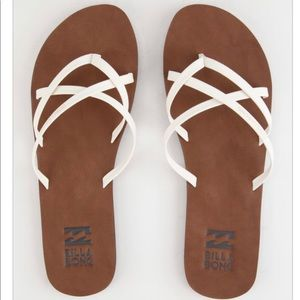 Billabong size 7 sandals